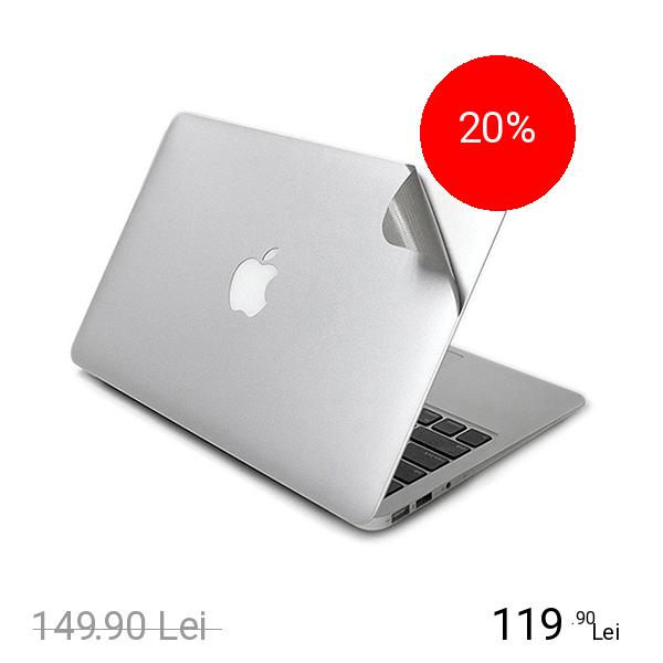 LENTION Folie De Protectie Transparenta 5 In 1 Full Pentru Macbook 12