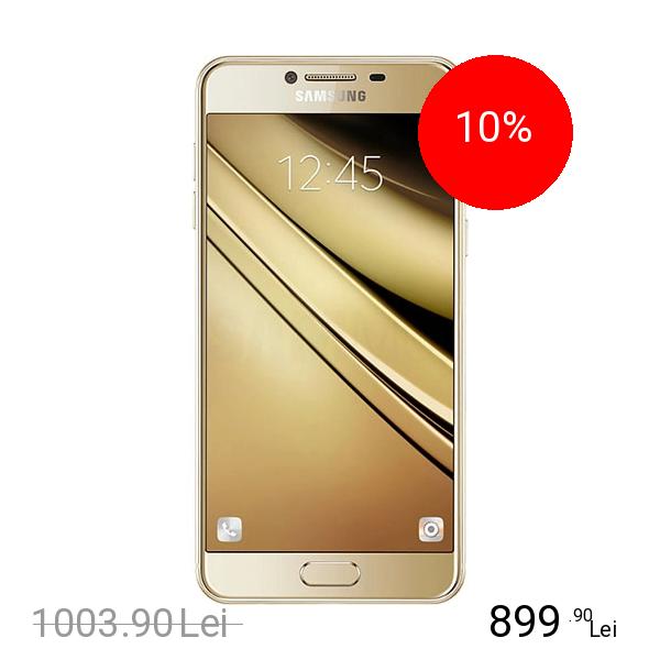Samsung Galaxy C5 Dual Sim 32GB LTE 4G Auriu 4GB RAM