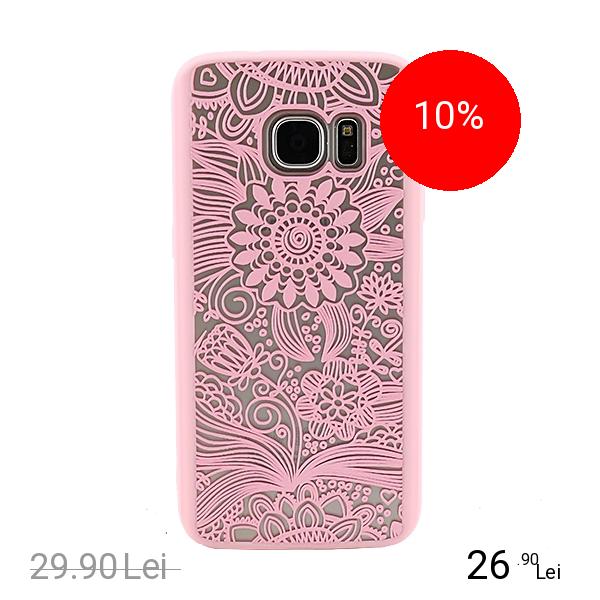 YUPPI LOVE TECH Husa Capac Spate Spirit Natural Roz Samsung Galaxy S7 Edge