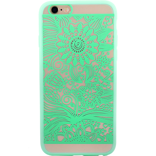 YUPPI LOVE TECH Husa Capac Spate Spirit Natural Verde APPLE iPhone 6 Plus, iPhone 6s Plus