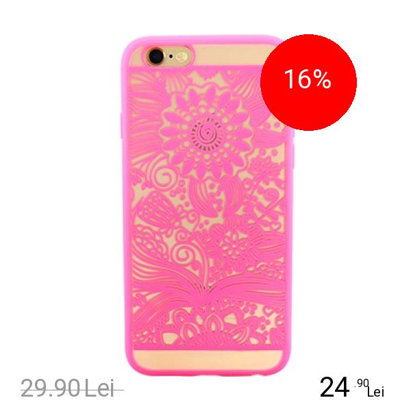 YUPPI LOVE TECH Husa Capac Spate Spirit Natural Roz APPLE iPhone 6 Plus, iPhone 6s Plus