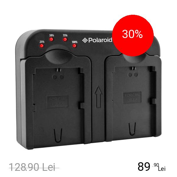 Polaroid Incarcator Priza Dual Pentru Canon 18
