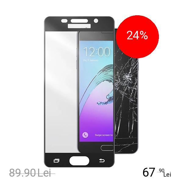Cellularline Sticla Securizata Full Body Anti-Shock Negru Samsung Galaxy A5 2016