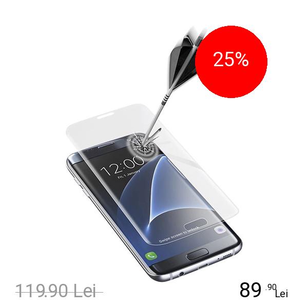 Cellularline Sticla Securizata Full Body Anti-Shock Samsung Galaxy S7 Edge
