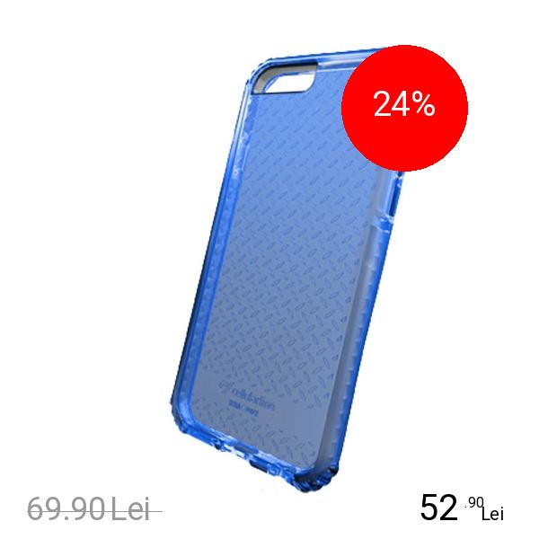 Cellularline Husa Capac Spate Albastru APPLE iPhone 6, iPhone 6S
