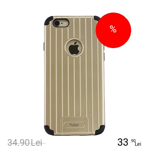 YUPPI LOVE TECH Husa Capac Spate Armor Auriu APPLE iPhone 6 Plus, iPhone 6s Plus