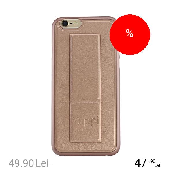 YUPPI LOVE TECH Husa Capac Spate Stand Roz APPLE iPhone 6, iPhone 6S