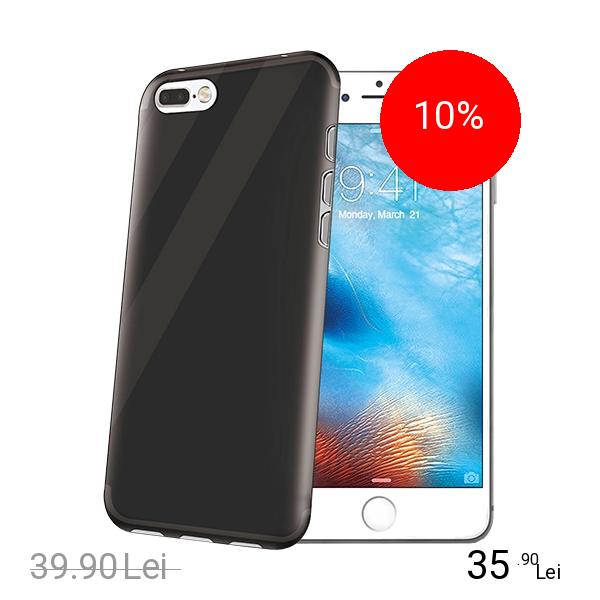 Celly Husa Capac Spate Negru Apple iPhone 7 Plus, iPhone 8 Plus