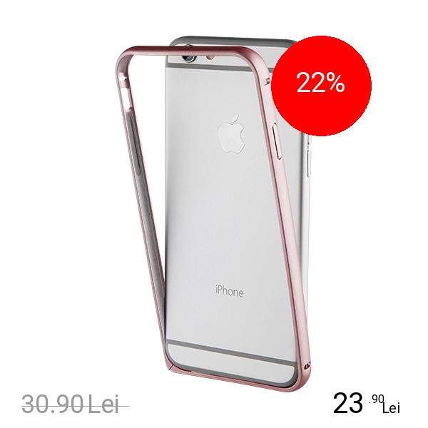 Muvit Husa Bumper Roz Apple iPhone 7 Plus, iPhone 8 Plus