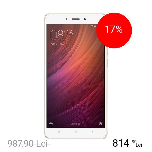 Xiaomi Redmi Note 4 Dual Sim 64GB LTE 4G Auriu 3GB RAM