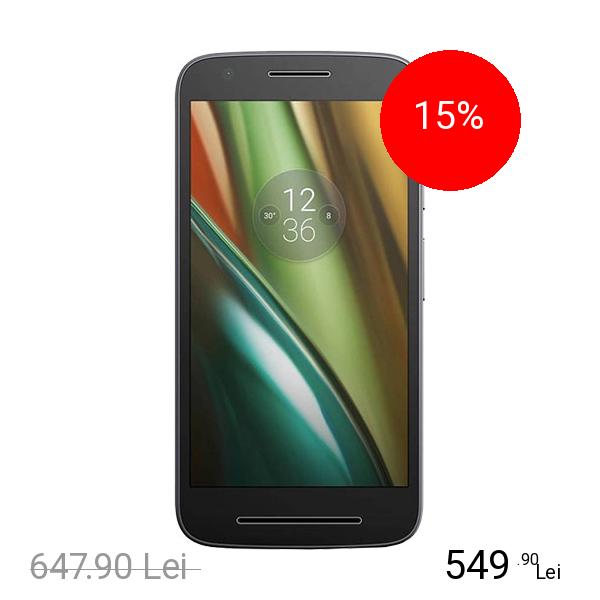 Motorola Moto E3 Power Dual Sim 16GB LTE 4G Negru
