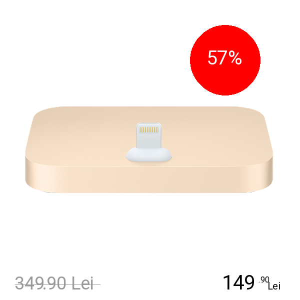 Apple Dock Lightning Auriu