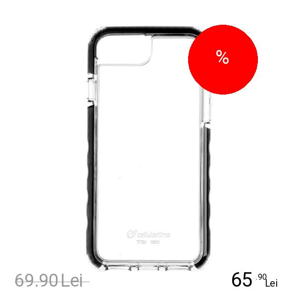 Cellularline Husa Capac Spate Tetra Pro Apple iPhone 7 Plus, iPhone 8 Plus