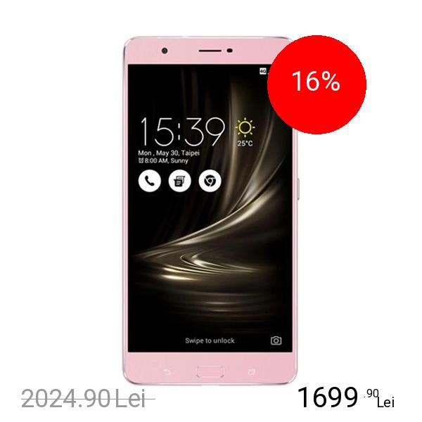 Asus Zenfone 3 Ultra Dual Sim 64GB LTE 4G Roz
