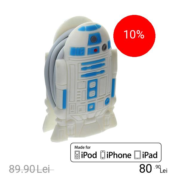 STAR WARS Cablu Date R2D2 Pentru Toate Telefoanele iPhone