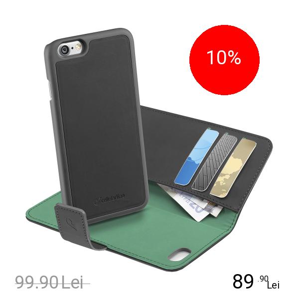 Cellularline Husa Combo Case 2 In 1 Negru Apple iPhone 7, iPhone 8