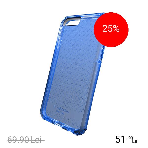 Cellularline Husa Capac Spate Albastru Apple iPhone 7, iPhone 8