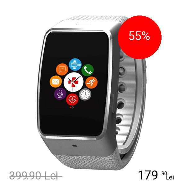 Mykronoz Smartwatch ZeWatch 4 HR Alb