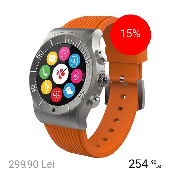 Mykronoz Smartwatch ZeSport Portocaliu