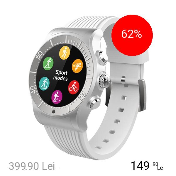 Mykronoz Smartwatch ZeSport Alb