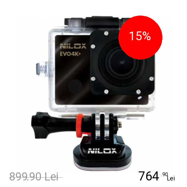 NILOX Evo 4K+ Camera Foto Si Video HD