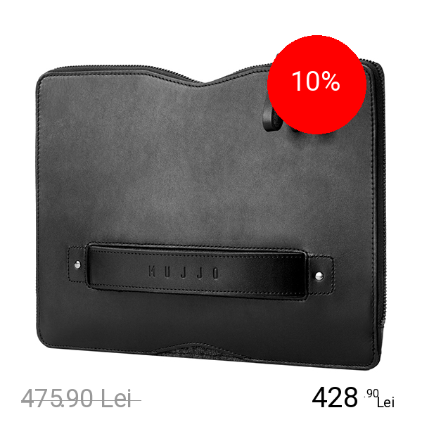 MUJJO Geanta Folio Sleeve Piele APPLE MacBook 12