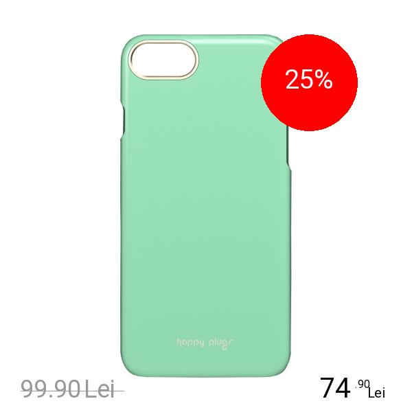 HAPPY PLUGS Husa Capac Spate Slim Verde Mint Apple iPhone 7, iPhone 8