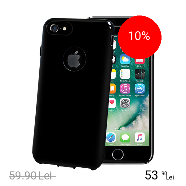 Celly Husa Capac Spate Black Edition Negru Apple iPhone 7, iPhone 8