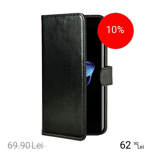 Celly Husa Agenda Black Edition Negru Apple iPhone 7, iPhone 8