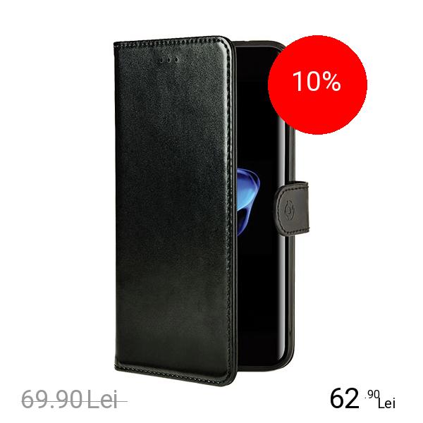 Celly Husa Agenda Black Edition Negru Apple iPhone 7 Plus, iPhone 8 Plus