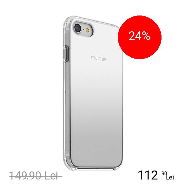 Mophie Husa Capac Spate Base Case Gradient Ultra Thin Argintiu Apple iPhone 7, iPhone 8