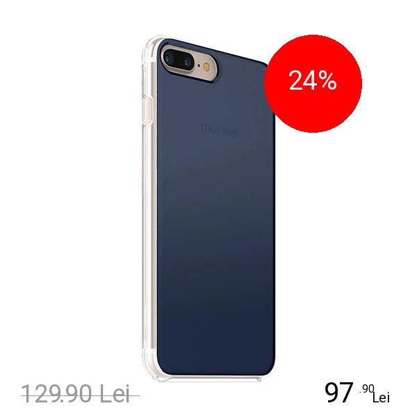 Mophie Husa Capac Spate Base Case Gradient Ultra Thin Albastru Apple iPhone 7 Plus, iPhone 8 Plus