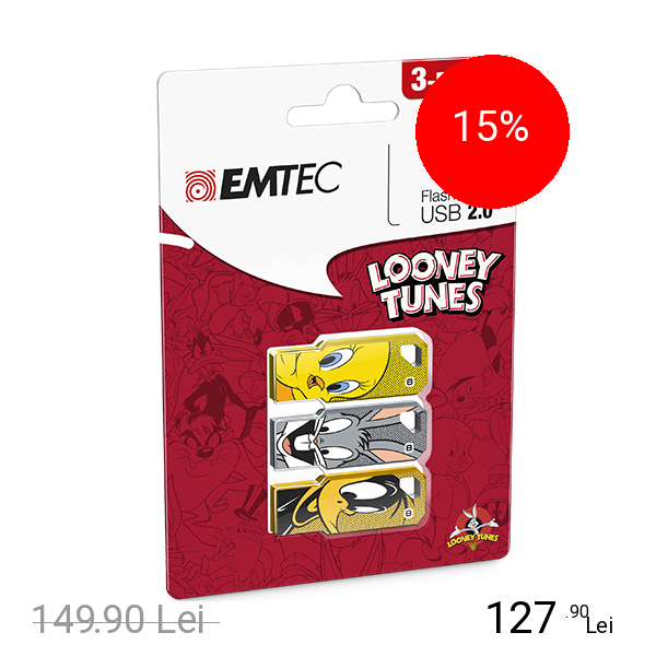 EMTEC Stick USB 8GB USB 2.0 LT01 P3