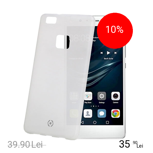 Celly Husa Capac Spate Frost Alb HUAWEI P9 Lite