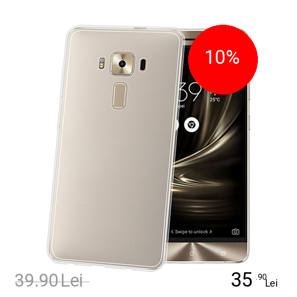 Celly Husa Capac Spate Transparent ASUS Zenfone 3 Deluxe ZS570KL