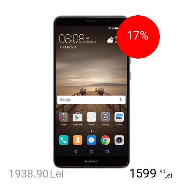Huawei Mate 9 Dual Sim 64GB LTE 4G Negru 4GB RAM