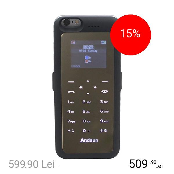 STAR Baterie Externa + Husa 3500 mAh Si Optiune SIM APPLE iPhone 6, iPhone 6S
