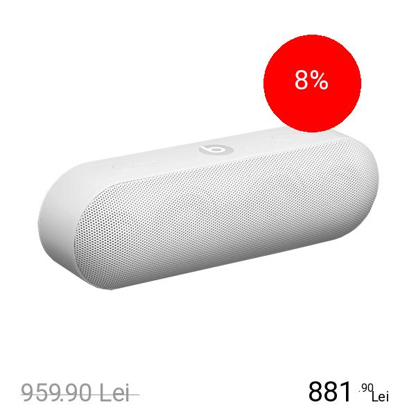 Beats Boxa Portabila Pill Plus Alb