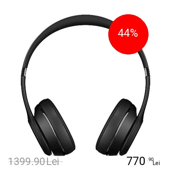 Beats Casti Wireless Solo 3 On Ear Negru