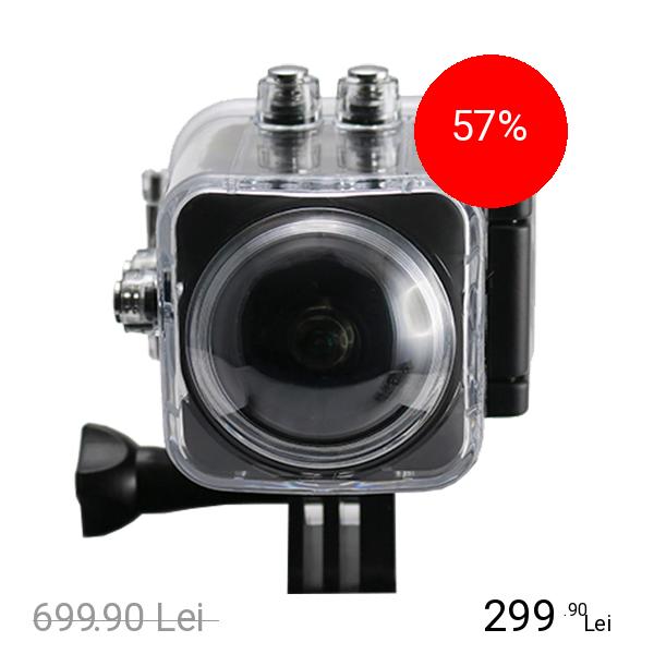 STAR Camera Foto Si Video 360 Sport Ultra HD 4K - 30 fps