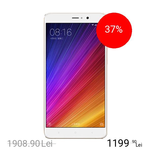 Xiaomi Mi 5s Plus Dual Sim 64GB LTE 4G Auriu 4GB RAM