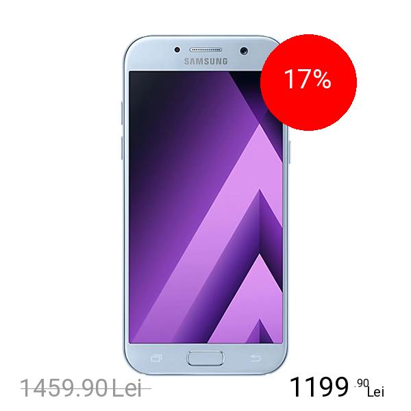 Samsung Galaxy A7 2017 Dual Sim 32GB LTE 4G Albastru 3GB RAM