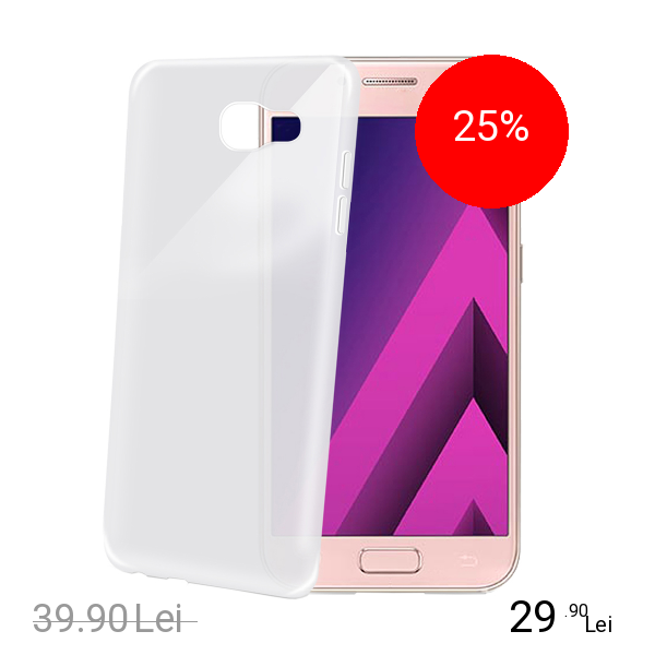 Celly Husa Capac Spate Frost Alb SAMSUNG Galaxy A5 2017