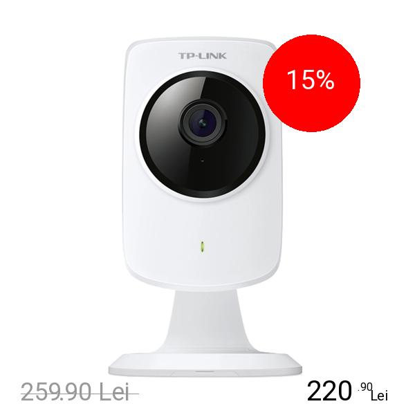 TP-LINK Camera de Supraveghere Cloud HD Wi-Fi Alb