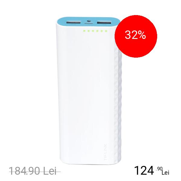 TP-LINK Baterie Externa 15600 mAh Dual USB 2.0