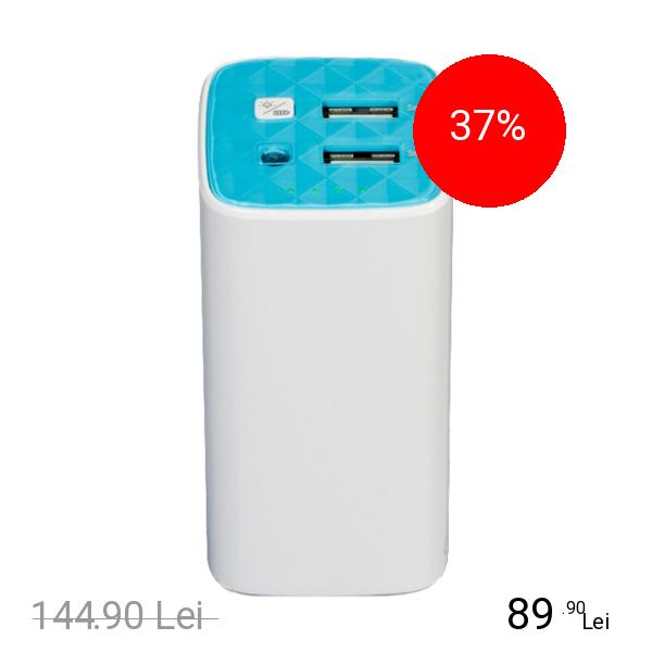 TP-LINK Baterie Externa 10400 mAh Dual USB 2.0