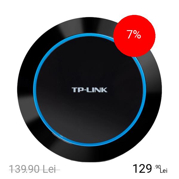 TP-LINK Incarcator Priza 40W 5 Porturi USB Negru