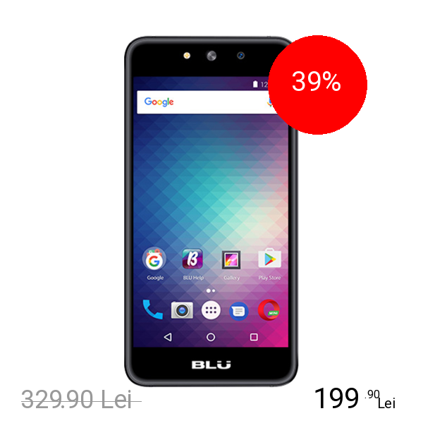 BLU Grand M Dual Sim 8GB LTE 4G Gri