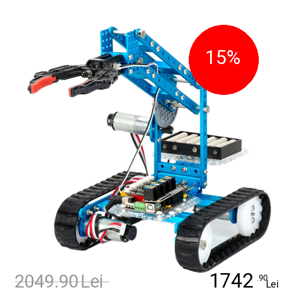 MAKEBLOCK Kit Robot Ultimate Educativ 10in1 Cu Bluetooth