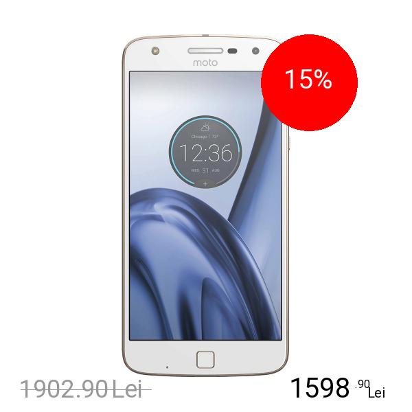 Motorola Moto Z Play Dual Sim 32GB LTE 4G Alb 3GB RAM
